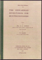 The Edwardian Inventories for Huntingdonshire