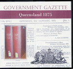 Queensland Government Gazette 1875