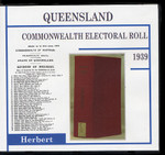 Queensland Commonwealth Electoral Roll 1939 Herbert