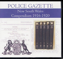 New South Wales Police Gazette Compendium 1916-1920