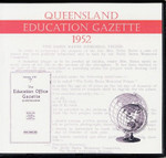 Queensland Education Gazette 1952