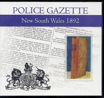 New South Wales Police Gazette 1892