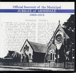 Official Souvenir of the Municipal Jubilee of Armidale 1863-1913