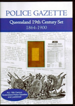 Queensland Police Gazette 19th Century Set 1864-1900