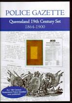 Queensland Police Gazette 19th Century Set 1864-1900