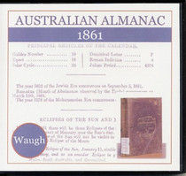 Australian Almanac 1861 (Waugh)