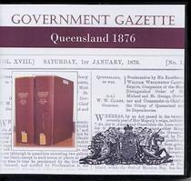 Queensland Government Gazette 1876