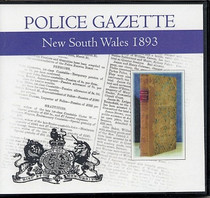 New South Wales Police Gazette 1893