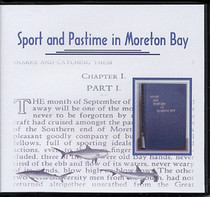 Sport and Pastime in Moreton Bay