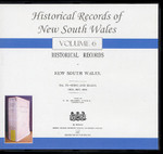 Historical Records of New South Wales Volume 6