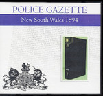 New South Wales Police Gazette 1894