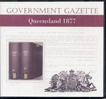 Queensland Government Gazette 1877