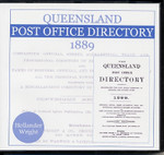 Queensland Post Office Directory 1889 (Hollander and Wright)
