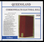 Queensland Commonwealth Electoral Roll 1939 Lilley