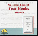 Queensland Baptist Year Books 1931-1940