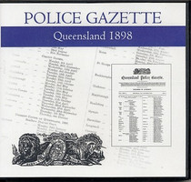 Queensland Police Gazette 1898