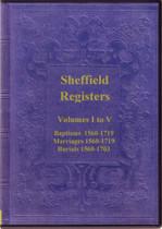 Yorkshire Parish Registers: Sheffield 1560-1719