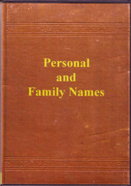 Personal and Family Names