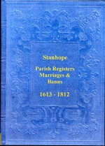 Durham Parish Registers: Stanhope 1613-1812