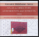 Greater Brisbane Area Atlas and Directory of Residents and Streets 1931