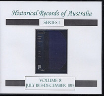 Historical Records of Australia Series 1 Volume 8