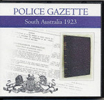South Australian Police Gazette 1923