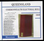 Queensland Commonwealth Electoral Roll 1939 Moreton