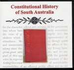 Constitutional History of South Australia