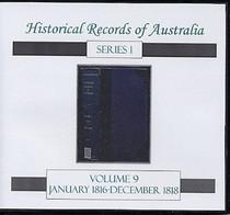 Historical Records of Australia Series 1 Volume 9