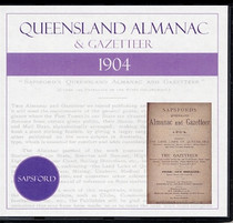 Queensland Almanac and Gazetteer 1904 (Sapsford)