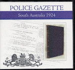 South Australian Police Gazette 1924