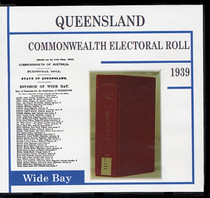 Queensland Commonwealth Electoral Roll 1939 Wide Bay