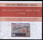 Greater Brisbane Area Atlas and Street Directory c1948
