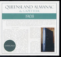 Queensland Almanac and Gazetteer 1908 (Sapsford)