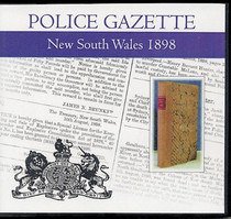 New South Wales Police Gazette 1898