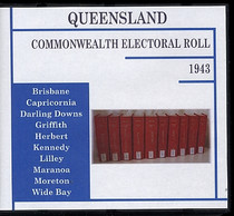 Queensland Commonwealth Electoral Roll 1943
