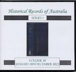 Historical Records of Australia Series 1 Volume 10