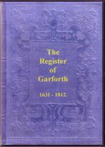 Yorkshire Parish Registers: Garforth 1631-1812