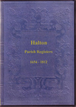 Northumberland Parish Registers: Halton 1654-1812