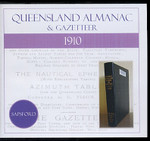 Queensland Almanac and Gazetteer 1910 (Sapsford)