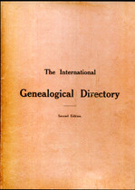 International Genealogical Directory 1909