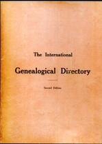 International Genealogical Directory 1909