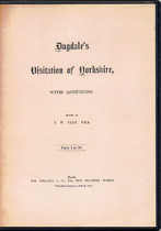 Visitation of Yorkshire with Additions