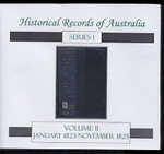 Historical Records of Australia series 1 Volume 11