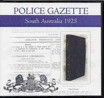 South Australian Police Gazette 1925