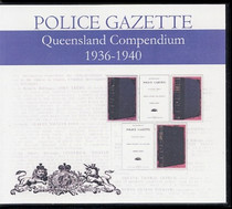 Queensland Police Gazette Compendium 1936-1940