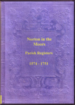Staffordshire Parish Registers: Norton-in-the-Moors 1574-1751