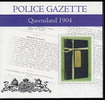 Queensland Police Gazette 1904