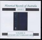 Historical Records of Australia Series 1 Volume 13