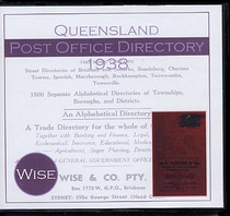 Queensland Post Office Directory 1938 (Wise)